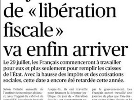Le Figaro:Encore une « impôtsture » !