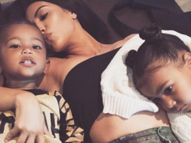 Kim Kardashian et Kanye West ont nommé leur troisième enfant Chicago West