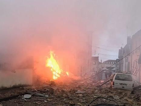 Limoges : quatre blessés dans l'explosion d'une maison due à une fuite de gaz