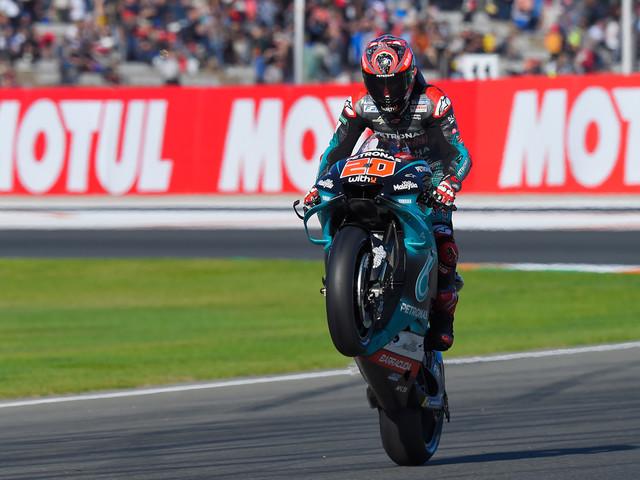 MotoGP: 6e pole de la saison pour Fabio Quartararo à Valence