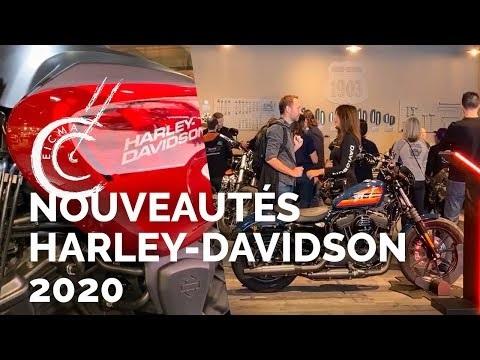 Nouveautés motos Harley-Davidson 2020