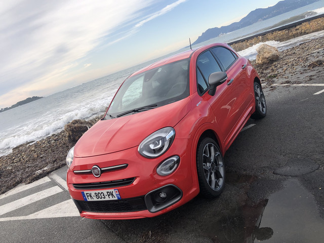 Toutes les photos de notre essai de la Fiat 500X Sport