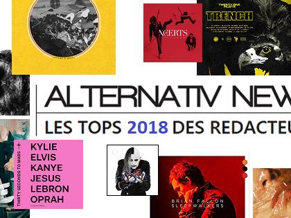 Les Tops 2018 des rédacteurs d'Alternativ News