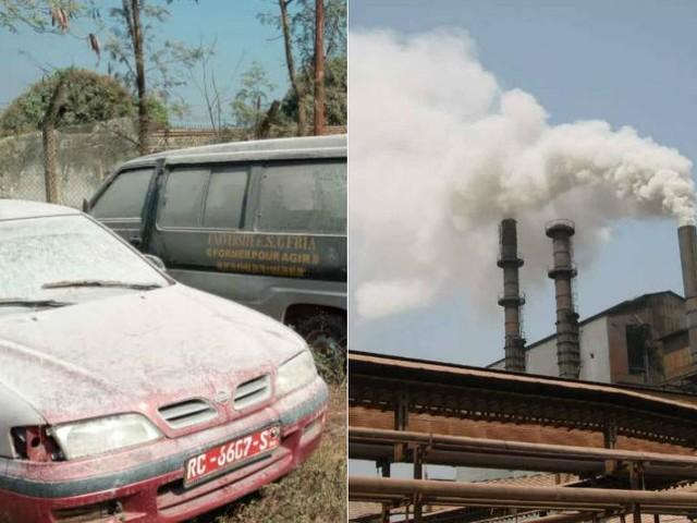 Une usine russe d'aluminium recouvre la ville guinéenne de Fria d'inquiétantes poussières blanches