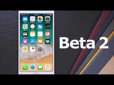 La 2ème version bêta d'iOS 11 est sortie : liste et vidéo des nouveautés et changements