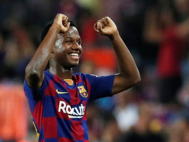 Barça: Valverde conquis par la prestation du jeune Fati