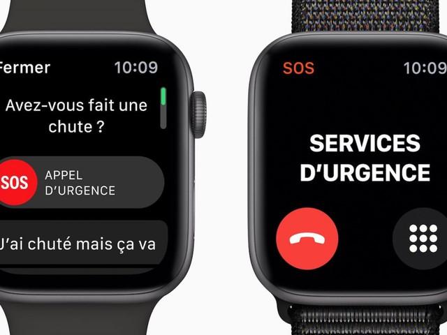Apple Watch Series 4 : la détection de chutes est activée automatiquement selon votre âge