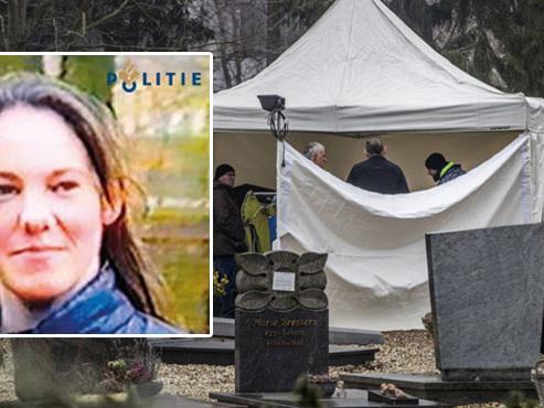 Tanja Groen, étudiante, introuvable depuis 27 ans: des fouilles sont faites dans un cimetière de Maastricht