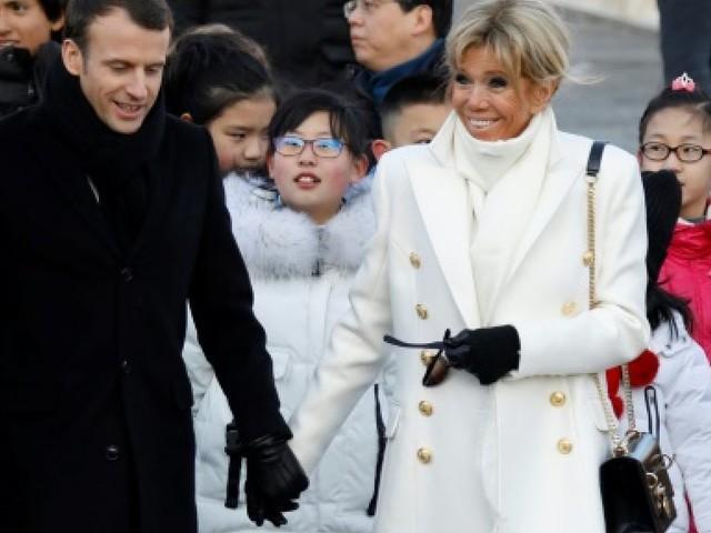 Gros contrats à la clé au deuxième jour de Macron en Chine