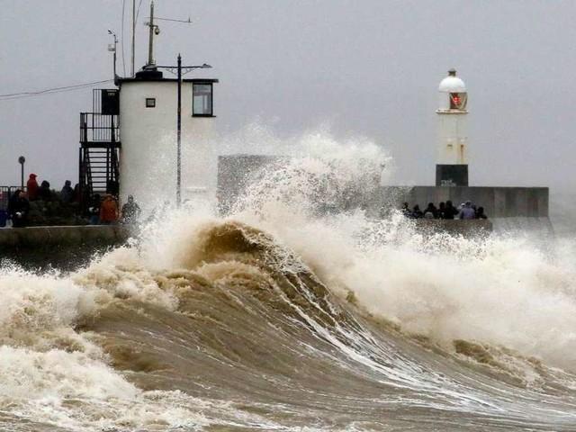 Tempête Dennis : Finistère et Morbihan en vigilance orange