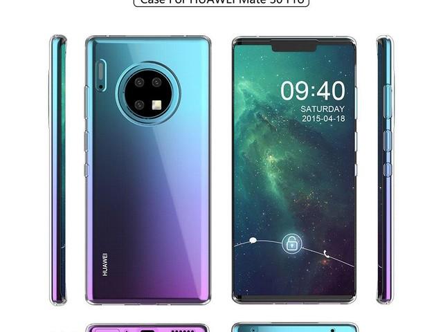 Huawei Mate 30 et Mate 30 Pro : un étrange changement de conception