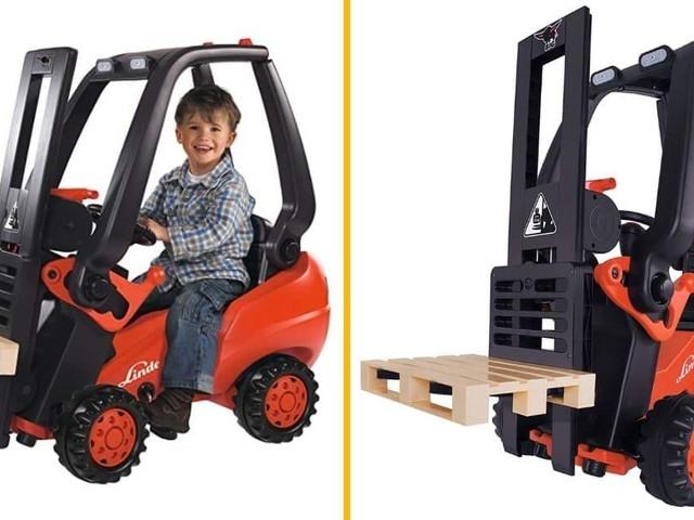 [TOPITRUC] Un chariot élévateur pour enfant
