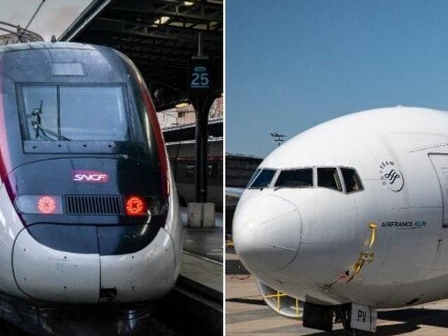 Train ou avion: lequel de ces transports a l'air le plus pur?