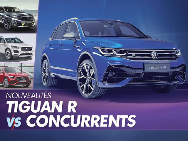 Volkswagen Tiguan R : découvrez en détail le Tiguan de 320 ch !