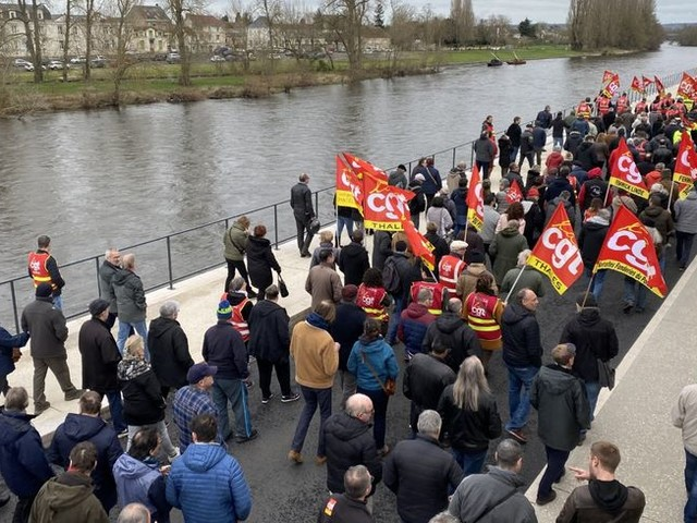 Mobilisation stable contre la réforme des retraites dans la Vienne