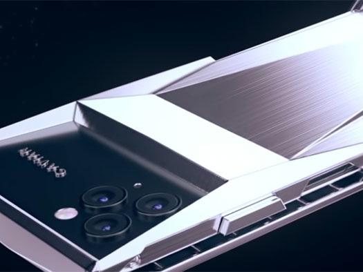 Quand l'iPhone 11 Pro est relooké à la mode du Tesla Cybertruck par Caviar