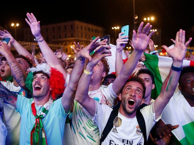 Renverser la situation en finale et gagner l'Euro 2020, seule l'Italie en était capable