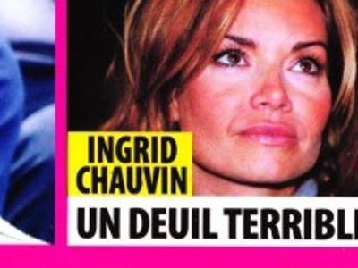 Ingrid Chauvin, terrible deuil, elle ouvre son coeur (photo)