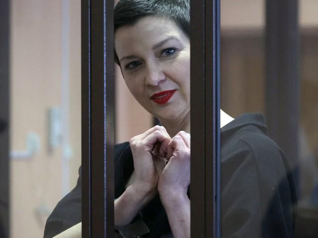 Le prix Vaclav-Havel des droits de l'homme remis à l'opposante biélorusse emprisonnée Maria Kolesnikova