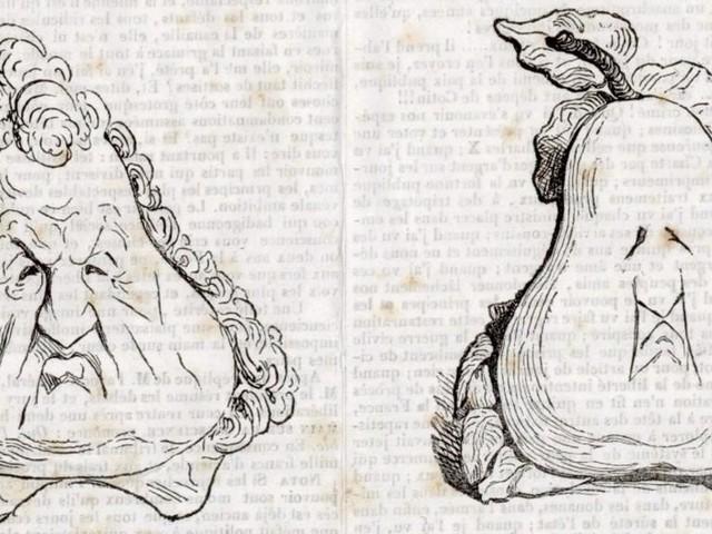 La caricature, une longue tradition française