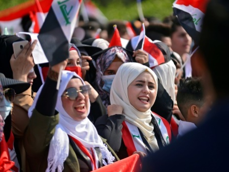 Regain des manifestations en Irak