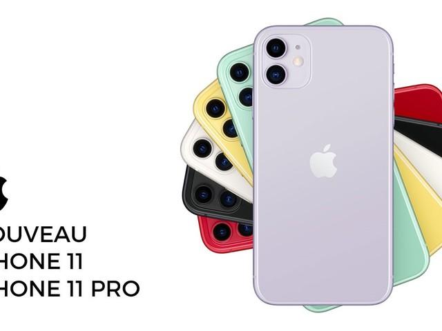 iPhone 11 et iPhone 11 Pro : tenez-vous prêts, les précommandes démarrent demain !
