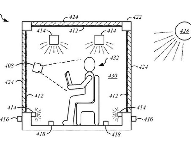 Apple Car : du TrueTone dans l'habitacle afin de garder un niveau de luminosité constant (brevet)