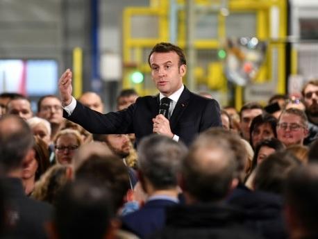 Dunkerque: sept manifestants dont un avocat en garde à vue avant la visite d'Emmanuel Macron
