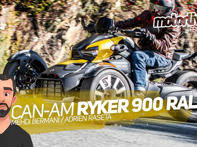 Vidéo Motorlive Ryker 900 Rally : plaisir moto pour fans d'auto