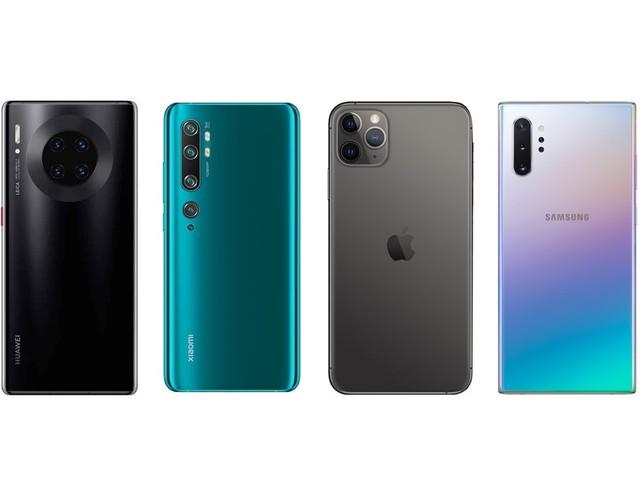 DxOMark évalue les meilleures caméras pour smartphone pour 2019