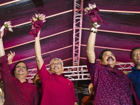 Les Rajapaksa visent à revenir au pouvoir avec la présidentielle au Sri Lanka