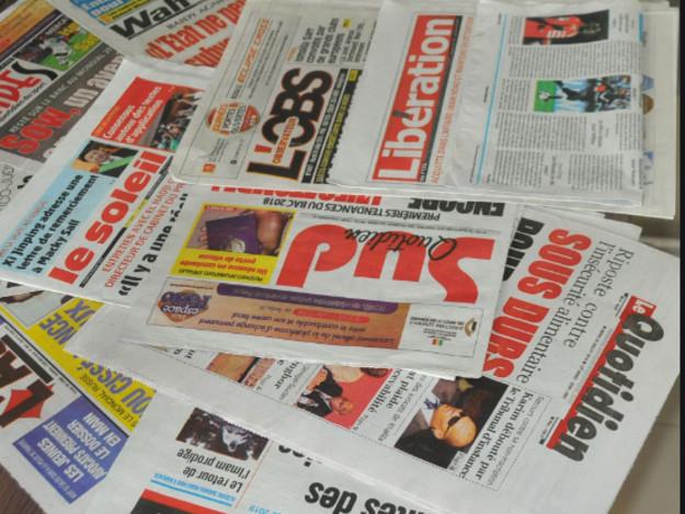 Politique et santé parmi les divers sujets à la Une au Sénégal