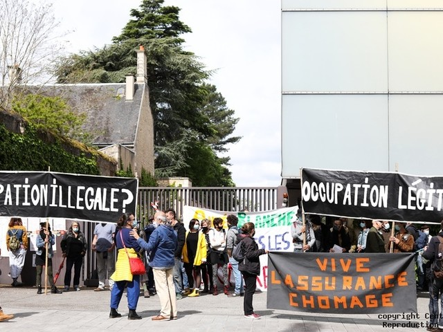 Occupation du théâtre de Poitiers : décision du juge lundi