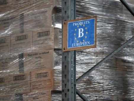 Aux Restos du Coeur, un quart des repas distribués financé par l'Union européenne