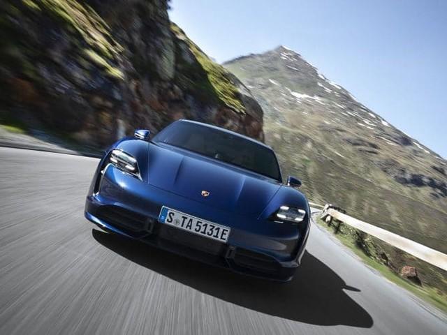 Taycan : la première Porsche électrique