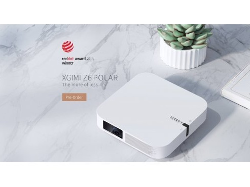 XGIMI Z6 Polar, un nouveau videoprojecteur compact Home Cinéma FULL HD et Android (464€)