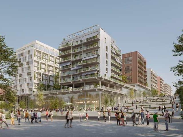 Les premières images du futur village des JO de Paris 2024