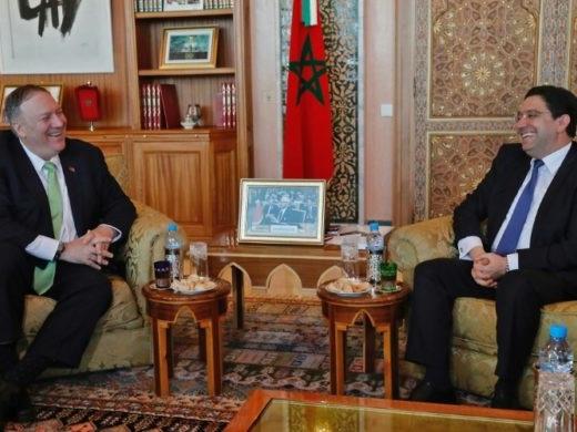 L'Iran, la Libye et le Sahel au coeur de la visite de Mike Pompeo au Maroc