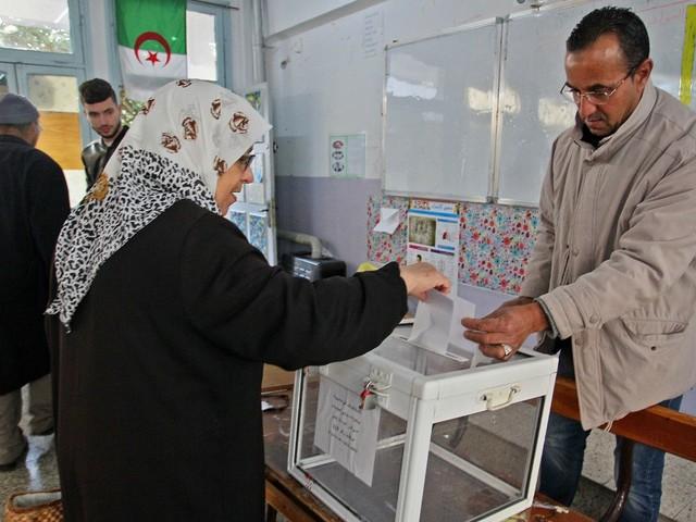 On vote en Algérie