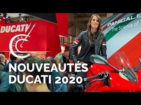 Nouveautés motos Ducati 2020