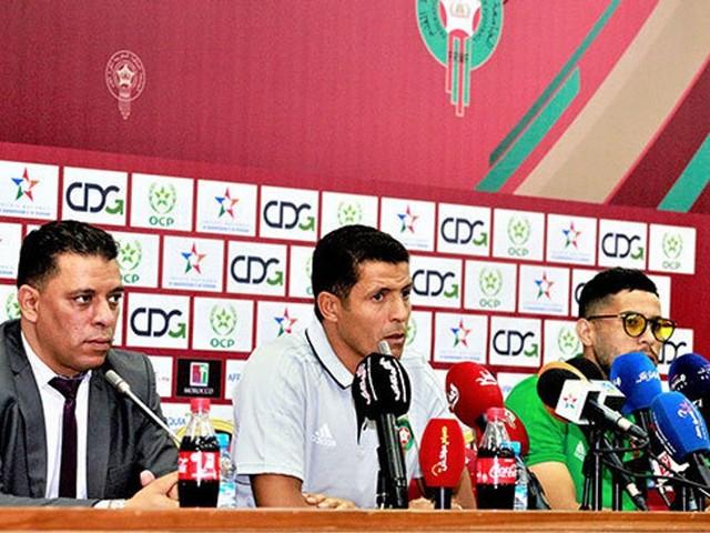 Locaux: les mots de Houcine Ammouta après les deux victoires du Maroc