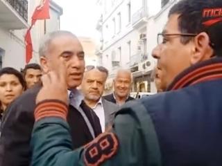 Tunisie – VIDEO: Tension et altercations entre des syndicalistes et des parents d'élèves