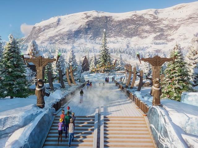 Planet Zoo se pose en Arctique pour les fêtes de fin d'année