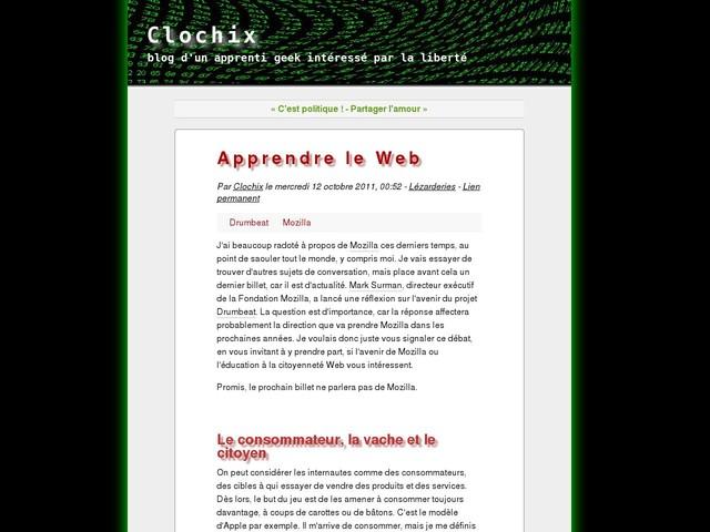 Apprendre le Web