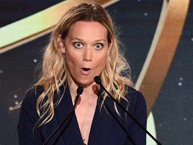 """Sur scène, Caroline Vigneaux plaide la cause des femmes : """"Un vrai challenge"""""""