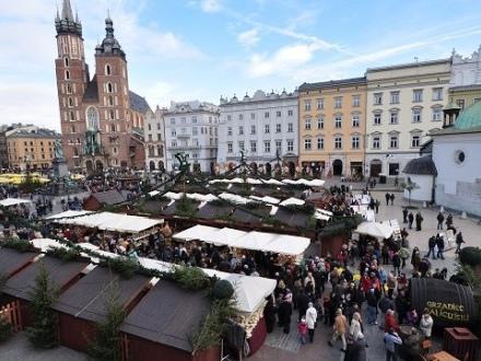Marché de Noël à Cracovie (Krakow)