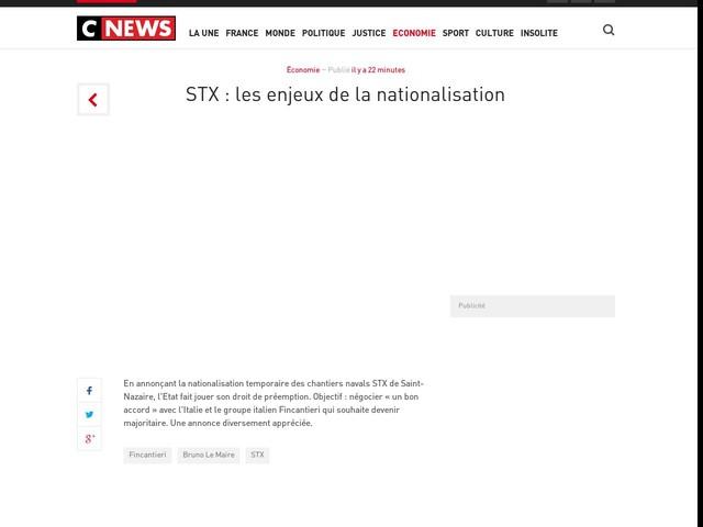 STX : les enjeux de la nationalisation