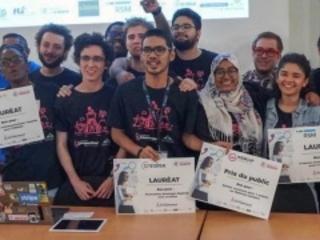 Startup week-end : CertiFaced, système de reconnaissance faciale, remporte le 1er prix