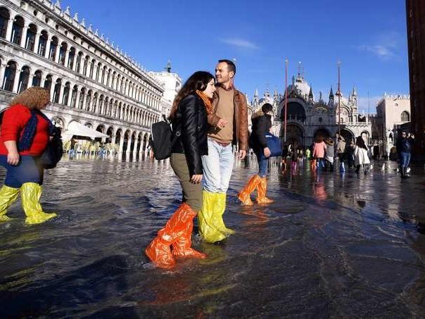 Après l'«acqua alta» de mardi, l'Italie décrète l'état d'urgence à Venise