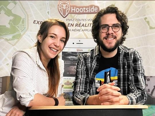 1,6 million d'euros pour Hootside, l'application de jeux vidéo en réalité augmentée
